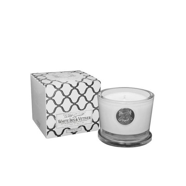 Aquiesse White Iris & Vetiver Organic Scented Candle – Just Scented Candles