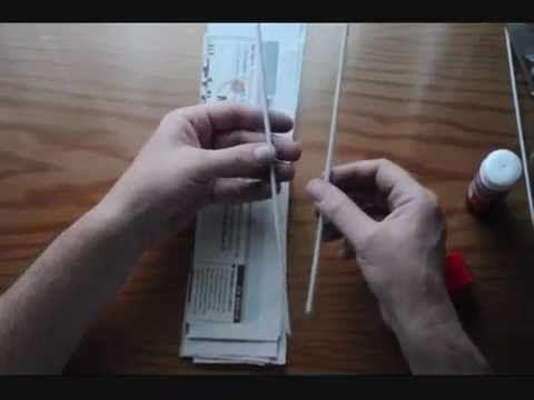 1.3 .Cómo hacer tubos de papel de periódico.