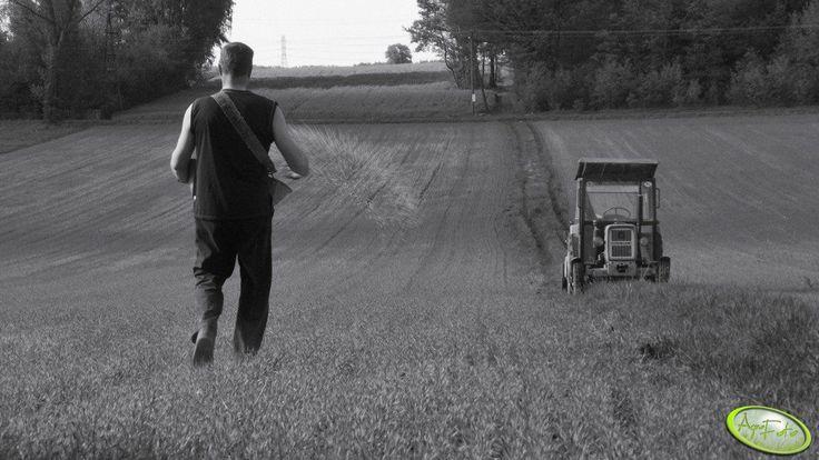 Tak było jeszcze wczoraj. #rolnictwo #rolnik #ursus #pole #wakacje