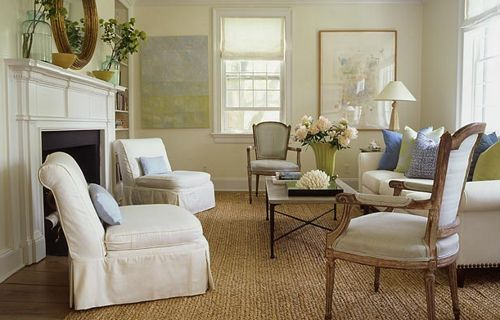 Shabby Chic Decor, Living Rooms, Decor Ideas, Country Living Room ...