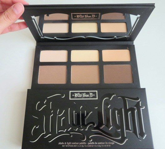 Kat Von D - Shade + Light Contour Palette This palette is my preference over the Anastasia palette because of how smooth the powders are applied. They're softer which doesn't require as much blending or applications