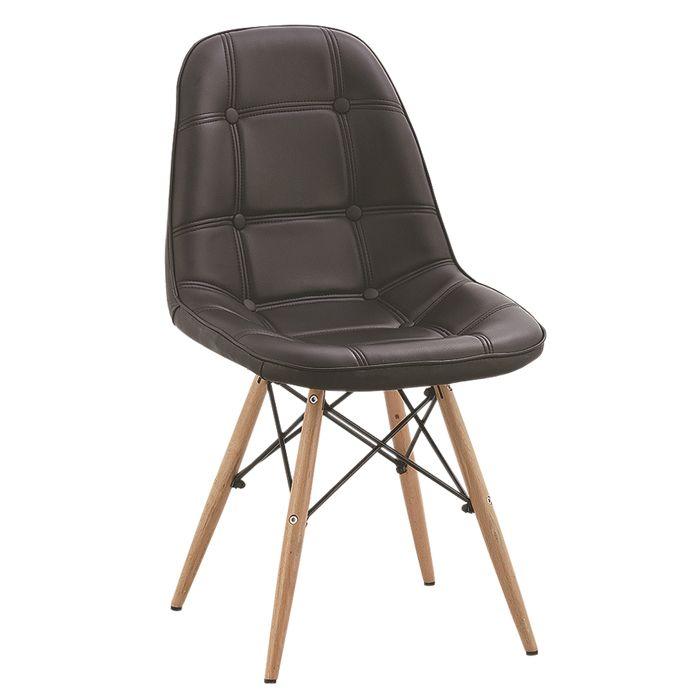 Эймс стул обеденный стул случайный домашних ПК ПУ кожаные кресла минималистский современный модельер шоу стул стул - Taobao