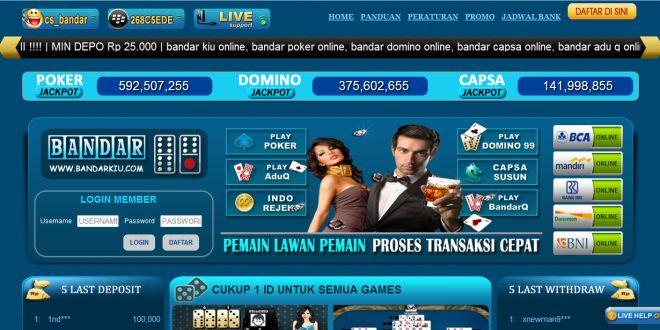 BANDARKIU – Agen Poker Online, DominoQQ Terpercaya