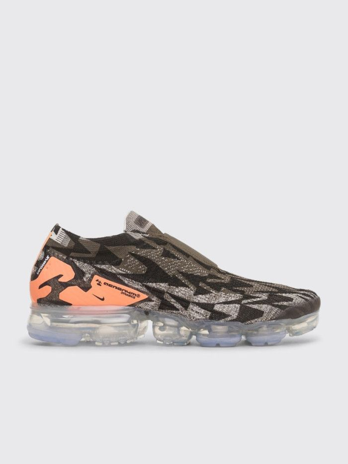 online store 456b8 3dee5 Nike x Acronym Air Vapormax FK Moc 2 Sail   Cargo Khaki   Dark Stucco  men   shoes  nike  sneaker  transparent