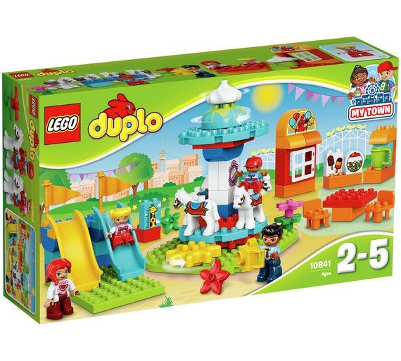 Buy LEGO DUPLO Fun Family Fair - 10841 at Argos.co.uk, visit Argos.co.uk to shop online for LEGO, LEGO and construction toys, Toys