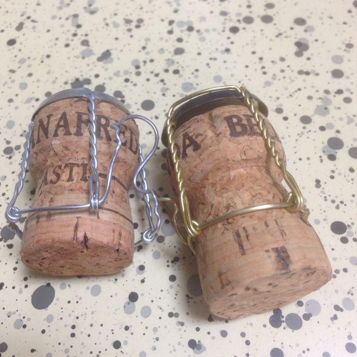 2人で開けたワインのボトル 記念にどうぞ♡って