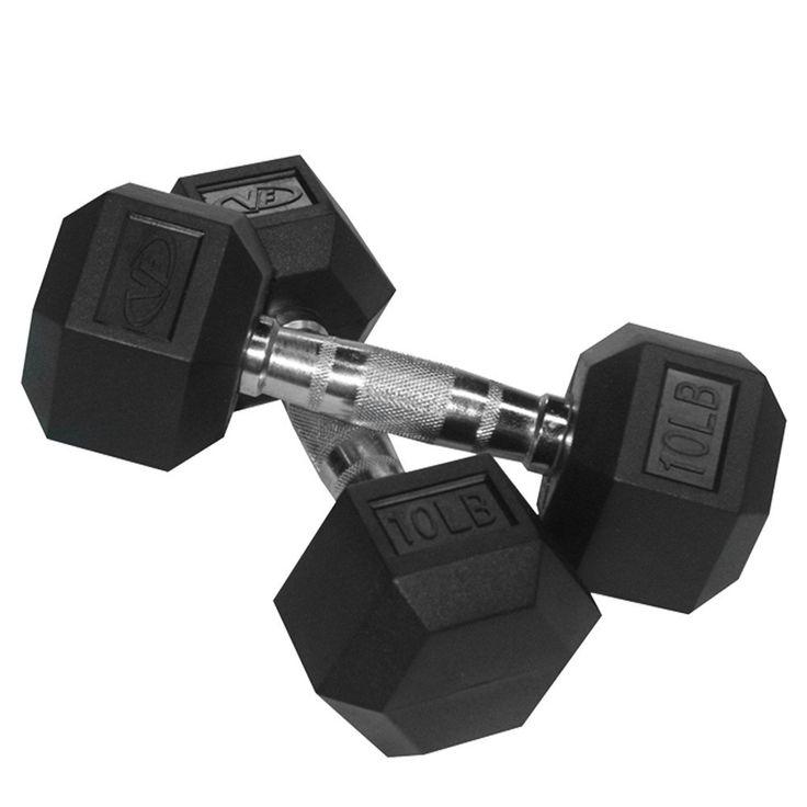 RH-10 10 lb Dumbbell (2)