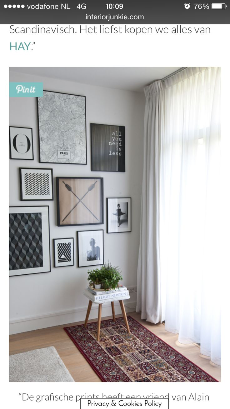44 best Decorating-Frame Walls images on Pinterest   Picture wall ...