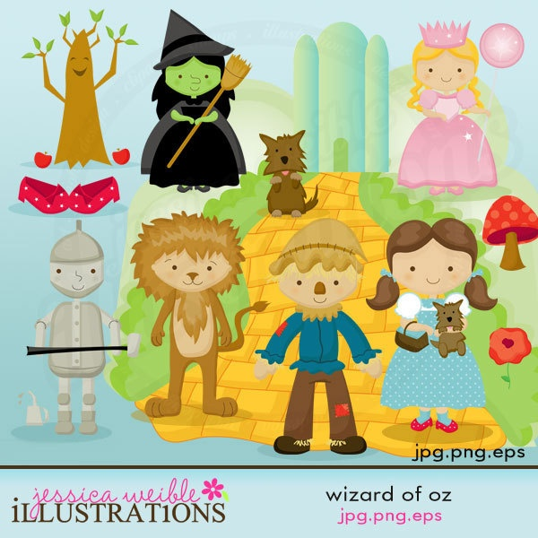 $5 on etsy for these adorable Wizard of Oz jpeg/png files for invitations and decor--LOVE