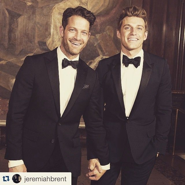 Designer And American Dream Builders Host Author Nate Berkus Married His Partner Tv Personality Jeremiah B Saay May 2017 At The