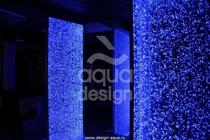 Пузырьковые панели для офиса, салона, ресторана - Водно-пузырьковые, Воздушно-пузырьковые - фото и видео