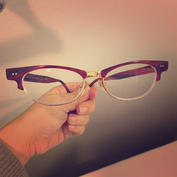 Shop Women's lafont Red Gold size OS Glasses at a discounted price at Poshmark. Description: Lafont Constance eyeglasses! ❤️French hand made designer frames! Very classic and cute! Get your prescription filled in these, they are gently used but in great condition 🤓. Sold by la_mardee. Fast delivery, full service customer support.