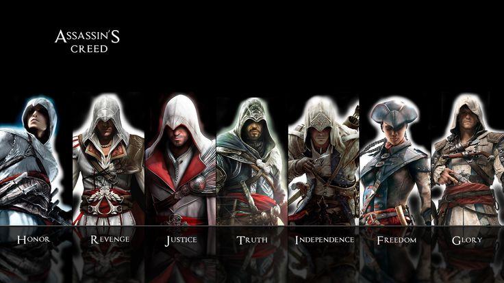 Assassins Creed HD wallpaper by teaD by santap on DeviantArt