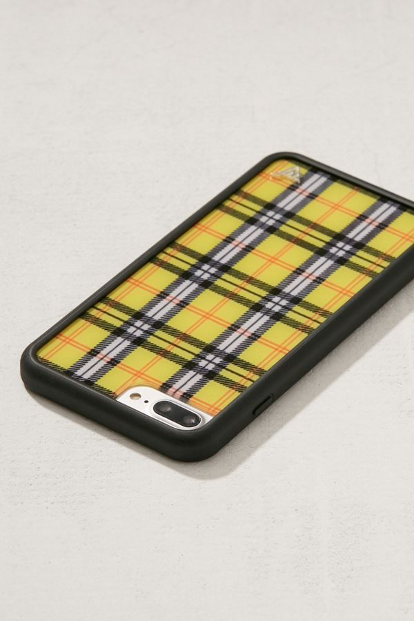 free shipping acbff f6cd6 Wildflower Yellow Plaid iPhone 8/7/6 Plus Case in 2019 | ✽TECH ...