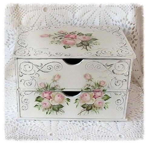 {Looking for stackable solution for Make-Up Organization. Something like this would be perfect for storage & a pretty accessory when coordinated with my plans for redecorating the bathroom. ~ Belle}