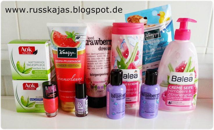 .Russkajas Beauty.: DM & Rossmann Haul 13.03.15