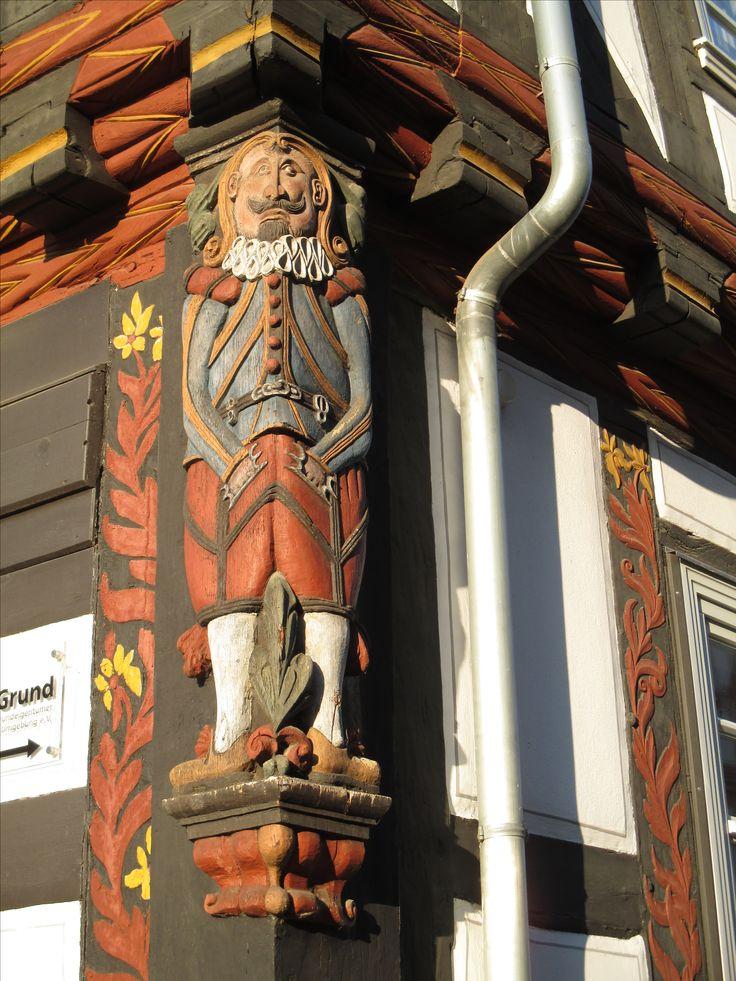 Fassadendekoration in Melsungen