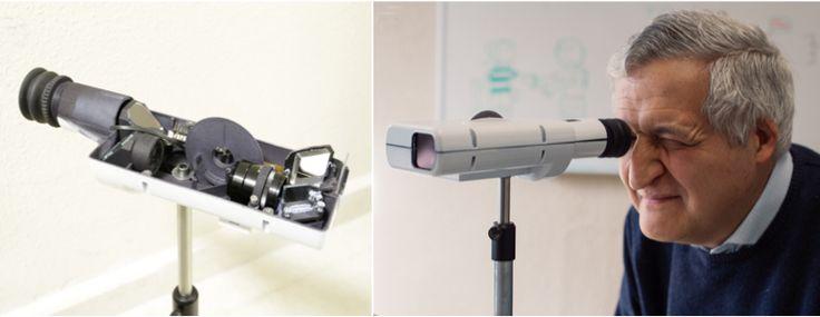 Desarrollan un dispositivo para simular las lentes intraoculares que se implantan a pacientes con cataratas