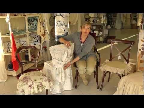 Come ricoprire le tue sedie. I consigli di Nadia a Veli & Arredi. - YouTube