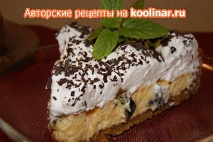 Фото к рецепту: Быстрый американский пирог.