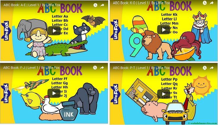 Vídeos para aprender inglés | Abecedario en inglés - Recursos educativos y material didáctico para niños/as de Infantil y Primaria. Descarga Vídeos para aprender inglés | Abecedario en inglés