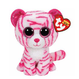 Petite peluche TY Beanie Boos Asia le chat