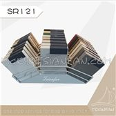 SR121---Metal Desktop Quartz Stone Display Tower