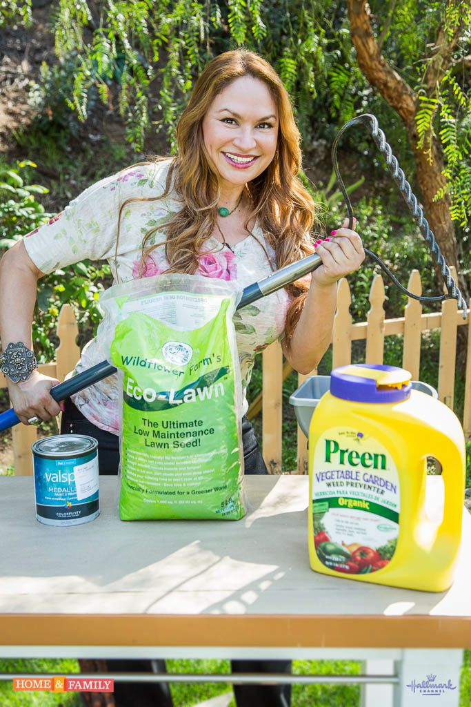 SET YOUT RECORDERS! I'm on Home & Family tomorrow, Thursday, March 20 @ 10 AM/9c on Hallmark channel.   Learn about some great organic solutions for lawn care that you can use this spring!