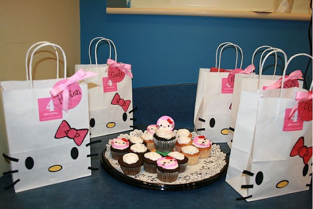 My Goodie Bags  E's Hello Kitty! 4th birthday party