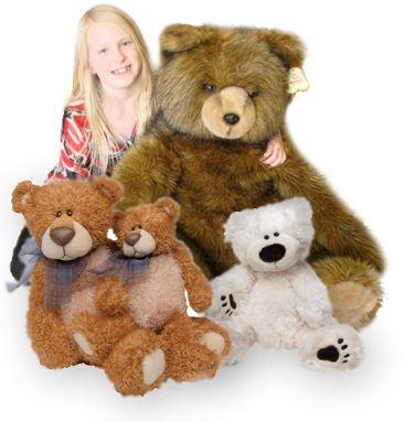 Stuffed bears are a huggable, classic gift for anyone! -stuffedsafari.com