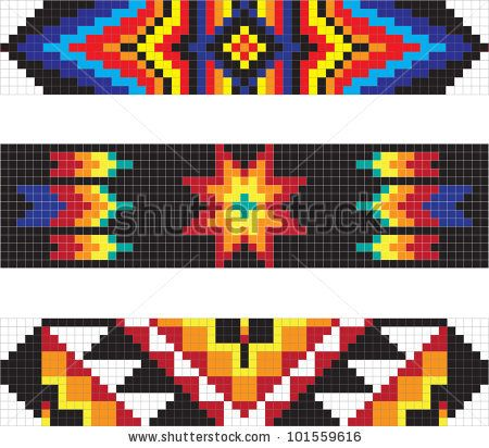 Traditional American Indian Pattern Art Amp Design Mexico