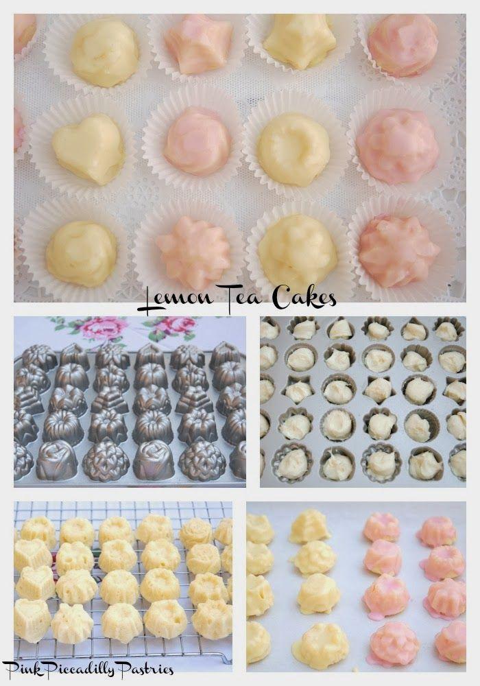 Pink Piccadilly Pastries: Fabulous Lemon Tea Cakes