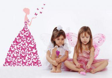 Muurstickers Baby & Kinderen Voor Meisjes Shop - wall-art.nl