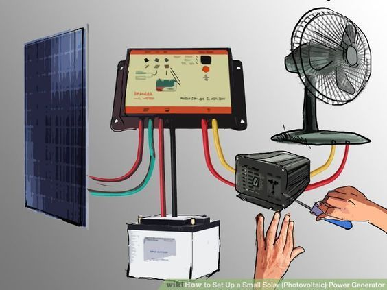 How to Set Up a Small Solar (Photovoltaic) Power Generator http://egardeningtools.com/product-category/generators/