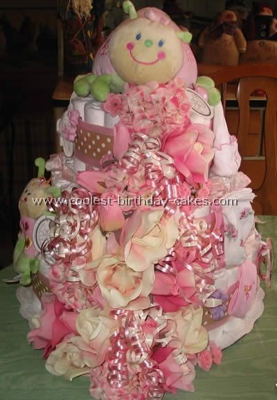 111 Best Images About Diaper Cakes On Pinterest Diaper