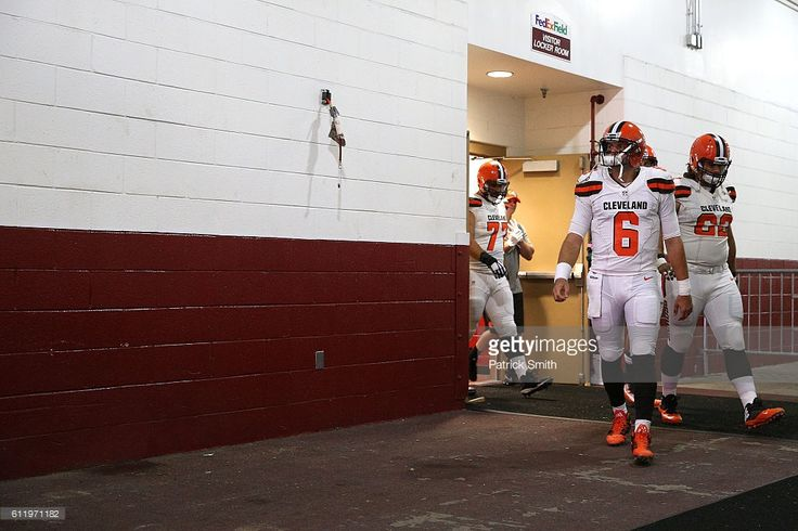 Quarterback Cody Kessler #6 of the Cleveland Browns leaves the locker room prior to a game against the Washington Redskins at FedExField on October 2, 2016 in Landover, Maryland.
