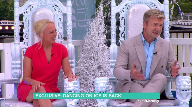 Jayne Torvill and Christopher Dean have confirmed they're returning for the next series of Dancing On Ice in 2018. The Olympic-winning ice skating legends appeared on ITV show This Morning opposite hosts Holly Willoughby and Phillip Schofield sat in Two white throne chairs from Envy Furniture   Read more: http://metro.co.uk/2017/09/04/torvill-and-dean-announce-theyre-returning-to-dancing-on-ice-in-2018-but-theres-a-few-changes-6901702/#ixzz4rorUZmbv  Buy the chairs…