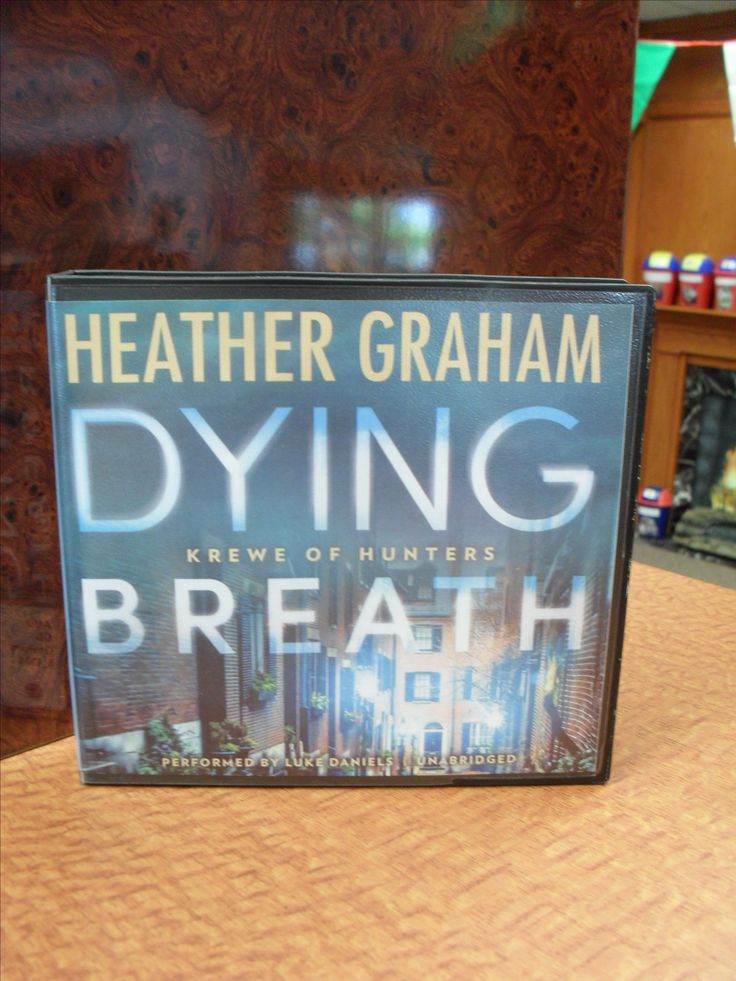 Krewe of Hunters book 21: Dying Breath by Heather Graham (Mystery/Paranormal/Romantic Fiction)