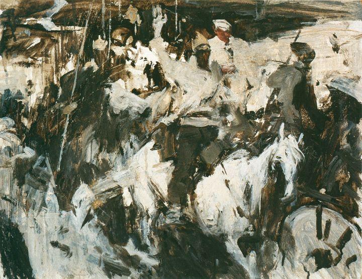 Музей живописи - Евсей Евсеевич Моисеенко (1916-1988гг).