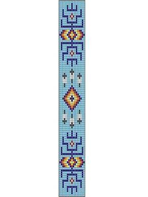 Free Loom Bead Patterns   Native American Loom Beading Patterns