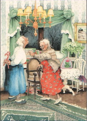 Finnish art card by Inge Look by CarolinaRen, via Flickr