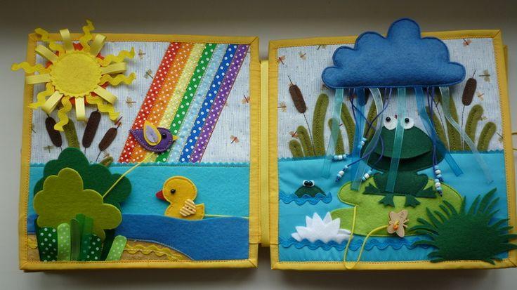 Adorable! Zauberhaftes Quietbook- soooo inspirierend!