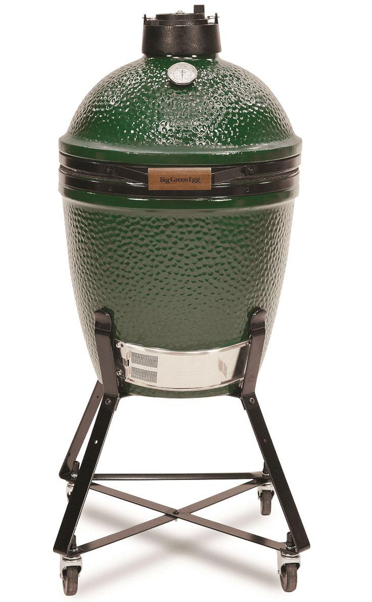 Big Green Egg Medium Charcoal Smoker/Grill: Design and Performance