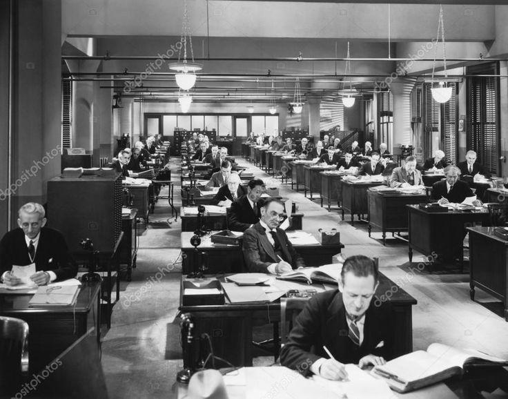 Baixar - Trabalhando no escritório — Imagem de Stock #12301191