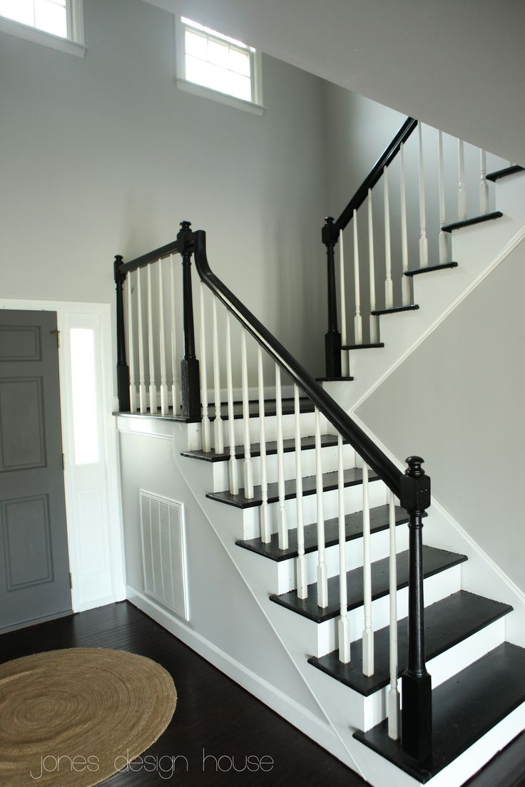 Best 77 Best Painted Staircase Ideas Images On Pinterest 400 x 300