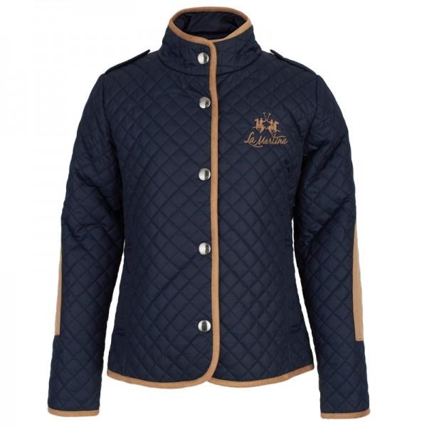 La Martina Quilt Polo Jacket at alexandalexa.com