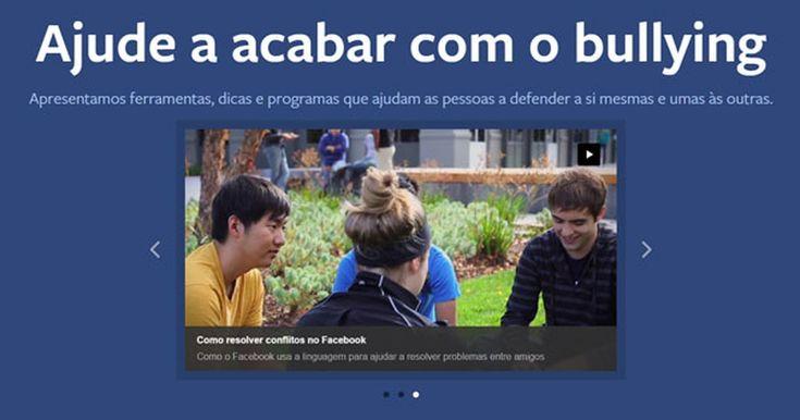 Facebook cria central de prevenção ao bullying no Brasil
