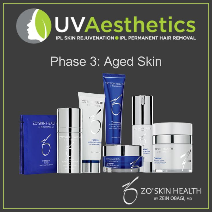 Zo Skin Health Products. Zo Skin health Phase 3 Aged