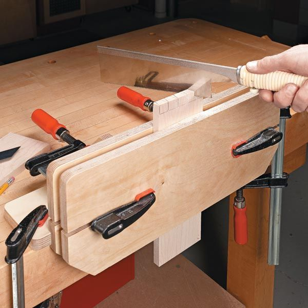 Woodworking Vise From Clamps. Very Simple And Cool Moxon Style Vise