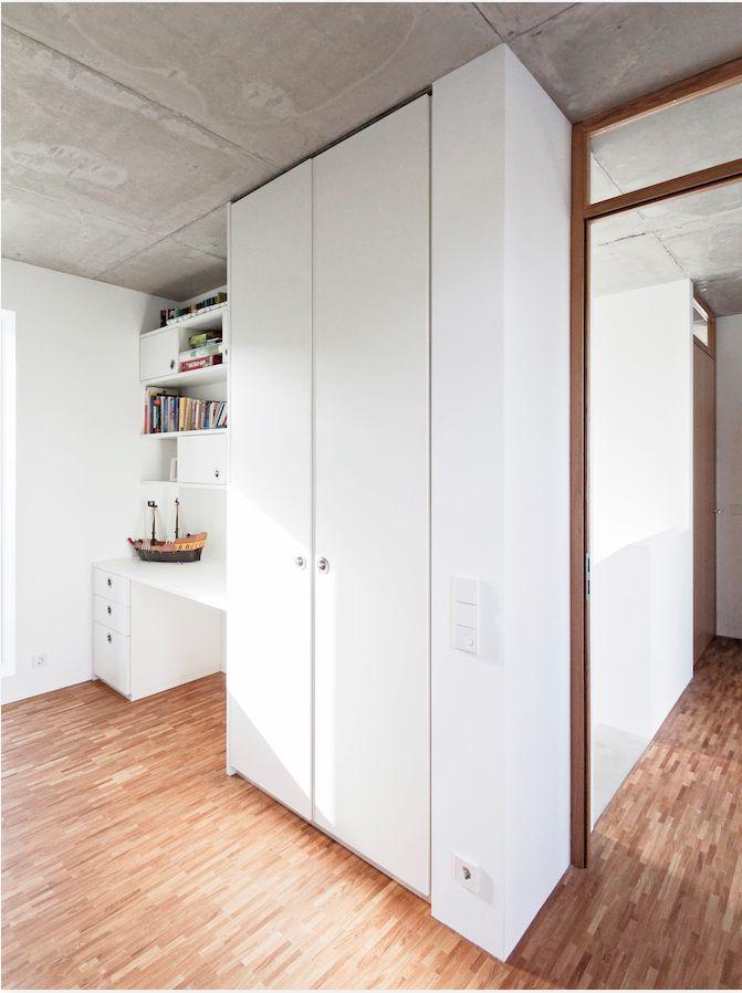 The 15 best Betondecke images on Pinterest Windows, Architecture - schlafzimmer bad hinter glas loft wohnung